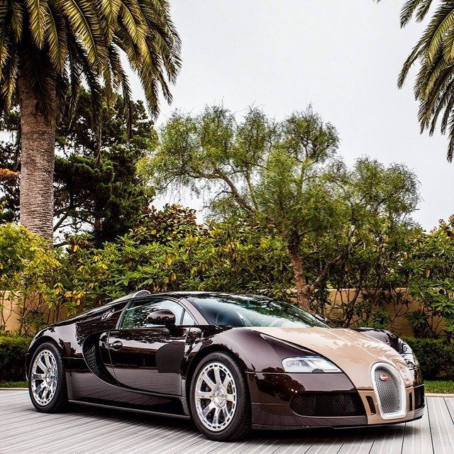 Bugatti Veyron Grand Sport Hermes #bugatti#veyron#hermes#grandsport#bugattiveyron#bug#usa#us#amer#california#color#brown#special#car#cars#hypercar#carmel