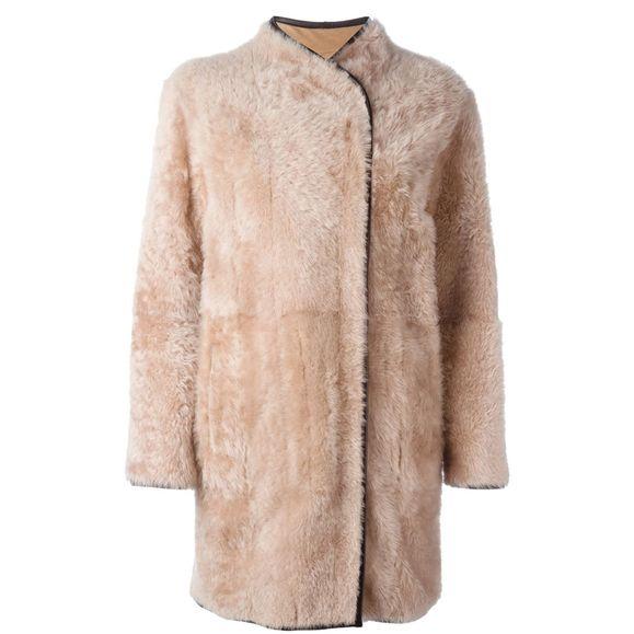 Пальто из овчины и кожи ягненка, 74 463 руб., Blancha