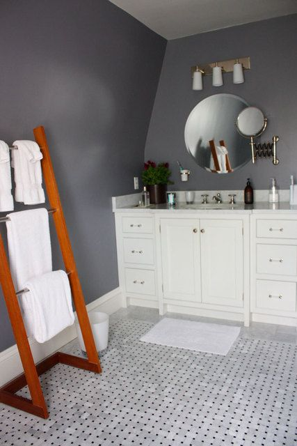 love the gray walls - dior gray by benjamin moore