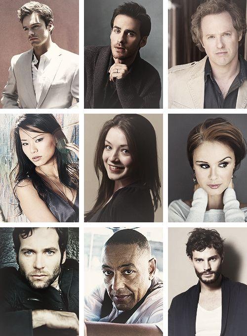 Sebastian (Jefferson), Colin (Hook), Raphael (Archie), Jamie (Mulan), Sarah (Aurora), Keegan (Blue Fairy), Eion (August), Giancarlo (Sidney), Jamie (Graham)