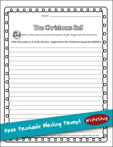 best winter writing ideas images handwriting   printable christmas story starter kids writingessay