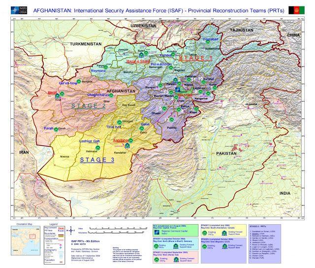Afghanistan Geografiske Kort Over Afghanistan Afeganistao