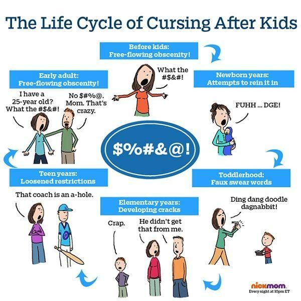 The Life Cycle of Cursing After Kids