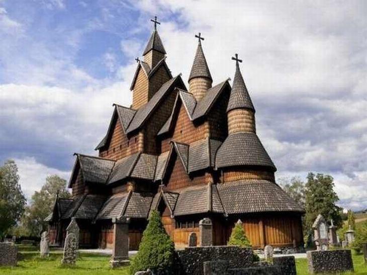 church photos  Heddal Stave Church – Norway