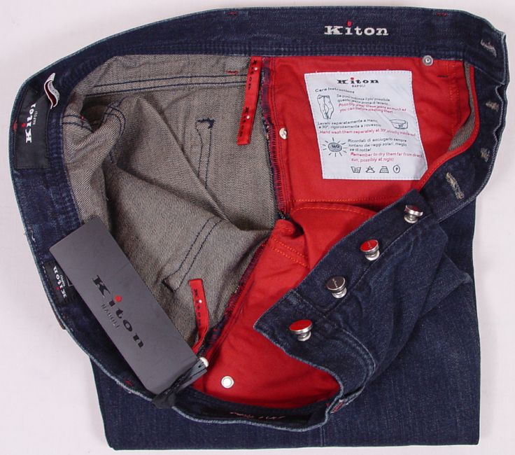 мужские джинсы и штаны Kiton
