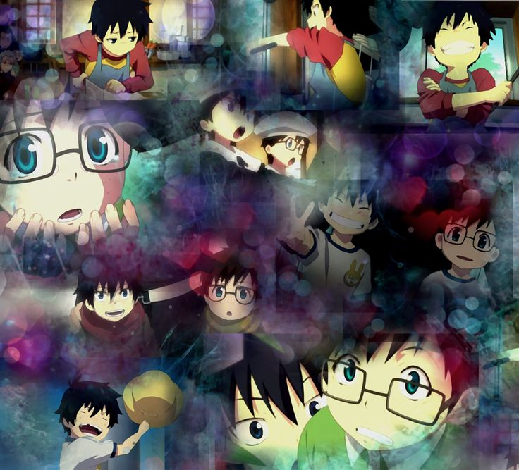 Wallpaper young Rin and Yukio by Devil-of-the-Moon