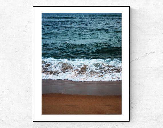 Wave Print, Ocean Photo, Sea Print, Beach Print, Tropical Poster, Ocean digital download, Sea view print, Blue Ocean Decor, Sea Decor, art This is an Instant Digital Download You can print in size : 12x16 (30X41 cm), 11x14 ( 28X35 cm) or 8x10 (20X26 cm) Format: JPG Resolution: 300 dpi