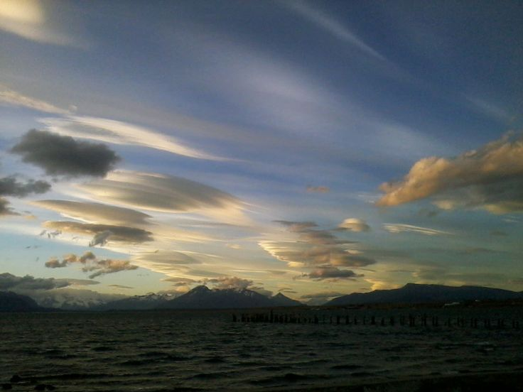Patagonian ever-changing sky PURE LOVE TODAY AND ALWAYS