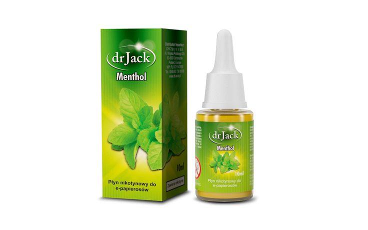 Liquid dr Jack 10 ml - Menthol Zapal-E