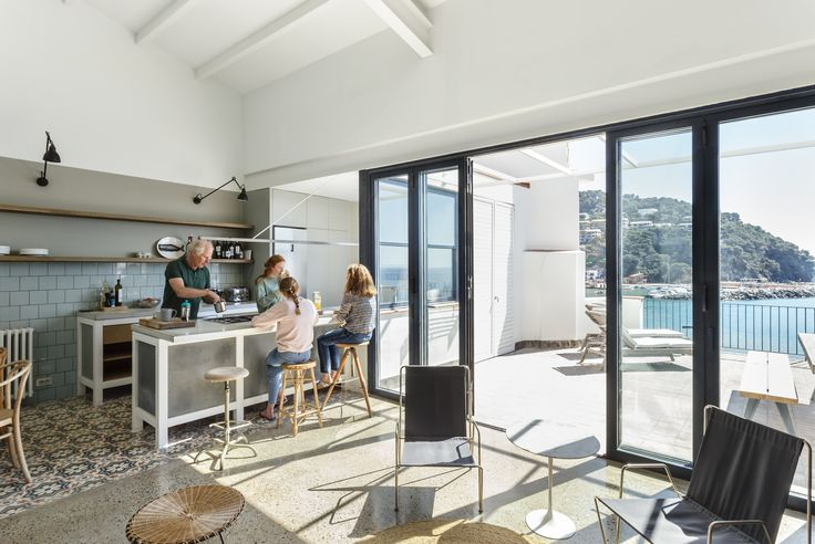 A Careful Renovation Brings New Life to a Family's Heritage Home on the Spanish Coast - Dwell