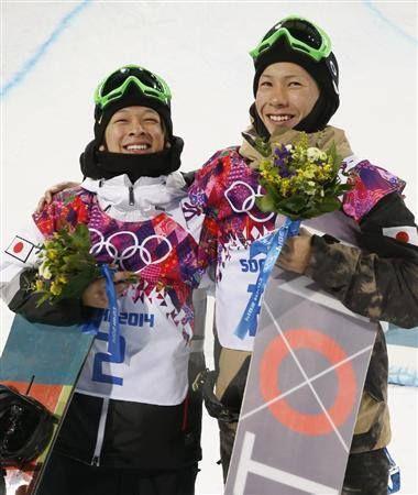 ソチオリンピック銀メダル銅メダルおめでとう!!