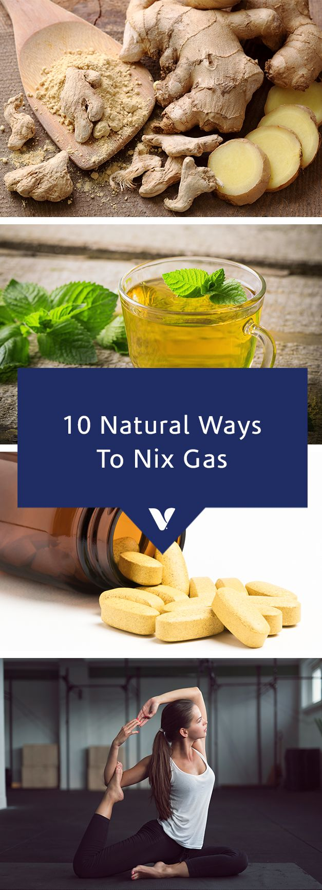 10 Natural Ways To Nix Gas - What's Good By V