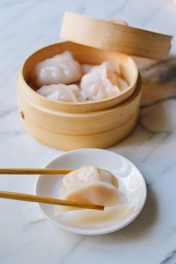 This recipe for Har Gow (dim sum crystal shrimp dumplings) has been a long time coming. After many experiments, we've cracked the code on how to make them. @thewoksoflife