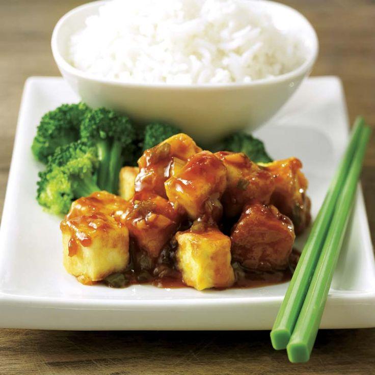 Tofu Général Tao - 10 recettes végétariennes réconfortantes