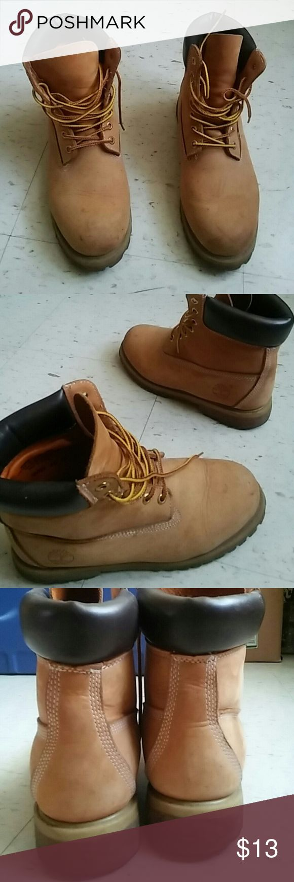 Mens timbs Mens Timbs in Worn condition at a very cheap price,very good work boots Timberland Shoes Combat & Moto Boots
