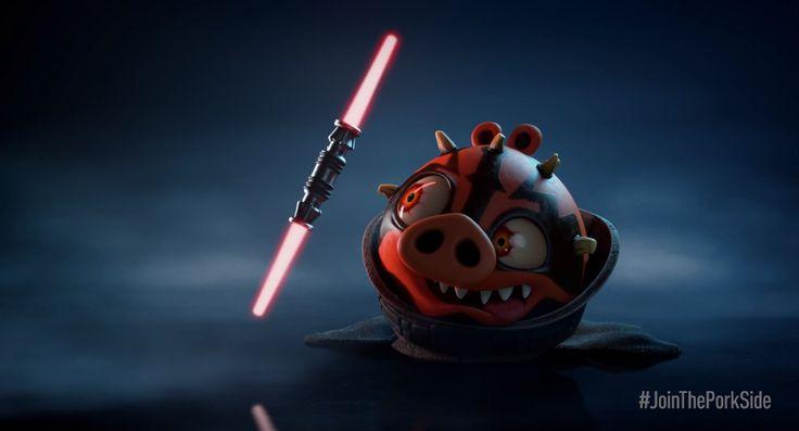 Darth Vader Pig Coloring Pages