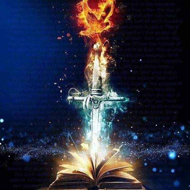 The Holy Spirit The Sword of the Spirit The Word of God | Holy ...