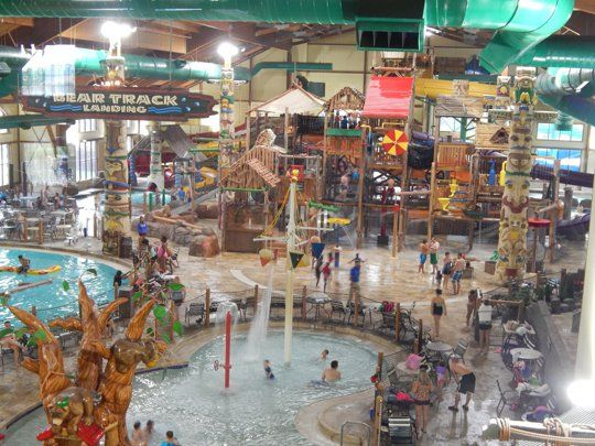 Indoor Water Parks Near Gatlinburg Tn Wild Bear Falls