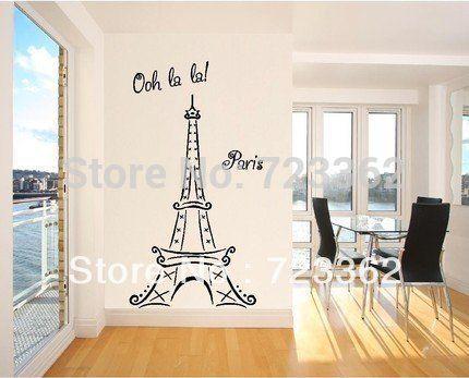 17 mejores ideas sobre molde torre eiffel en pinterest for Vinilos pared pasillo