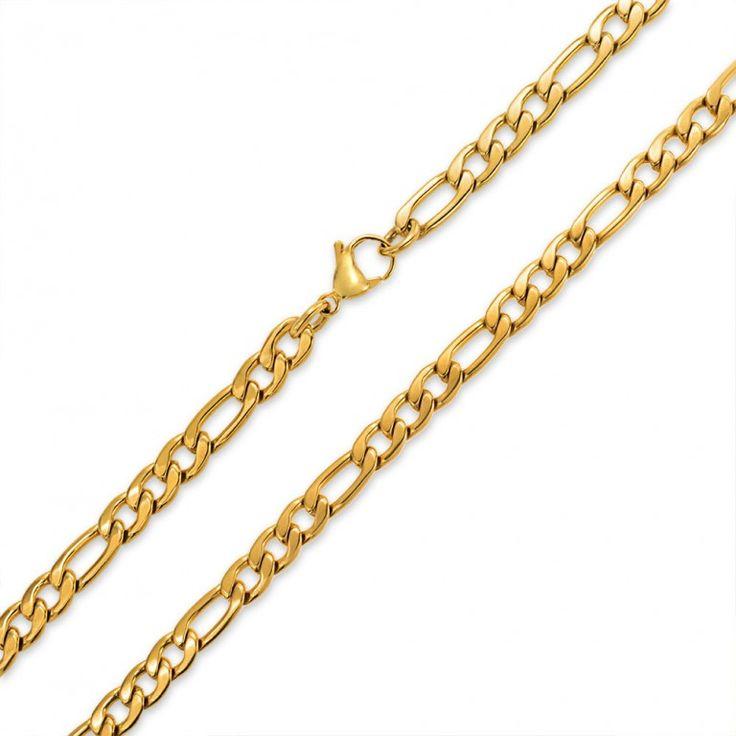25+ beste ideeën over Gold chains for men op Pinterest ...