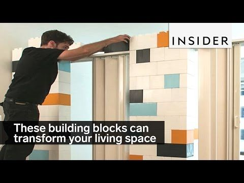 **Kids can play with these instead (**These building blocks can transform your living space - YouTube