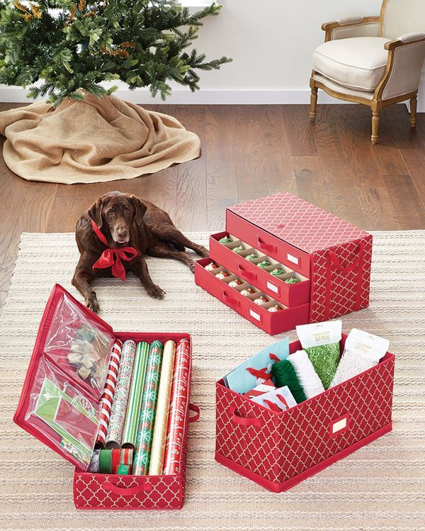 Container Store Ornament Storage 90 Best Organized Holiday Images On Pinterest  Holiday Storage