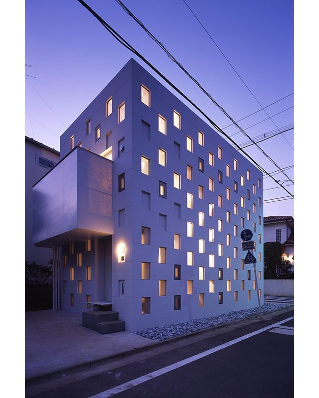 Stacked Steel Box House By Atelier Tekuto See More At WWW.TRANSFER.DESIGN #