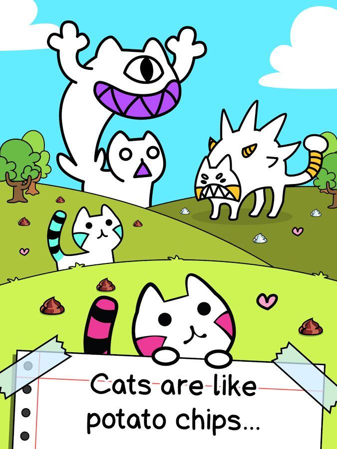 Cat Evolution - Clicker Game - στιγμιότυπο οθόνης