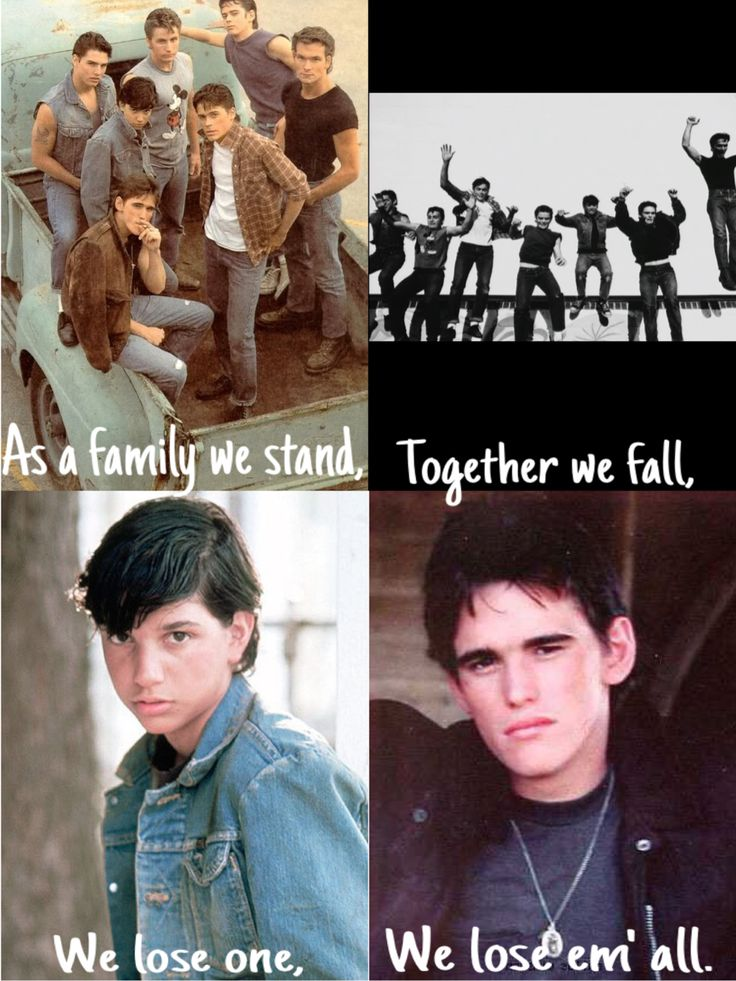 As a family we stand, Together we fall, We lose one, We lose em' all.