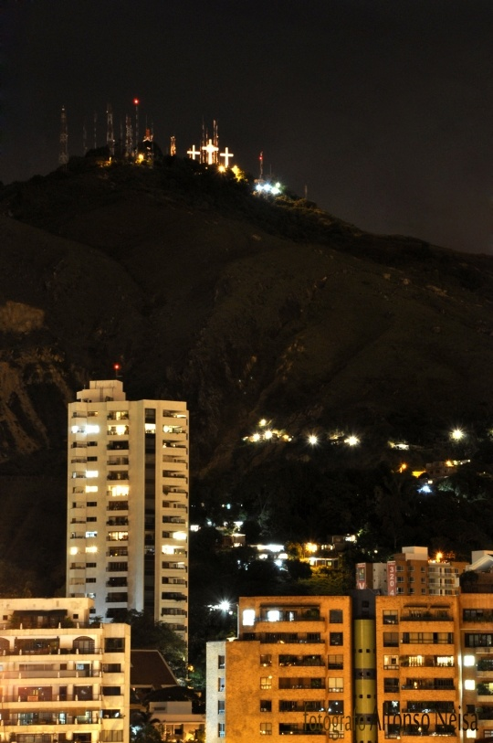 Cerro De Las Tres Cruces - Cali - I remember hiking there when I was 15 years old with my grandmother, mother and auntie.