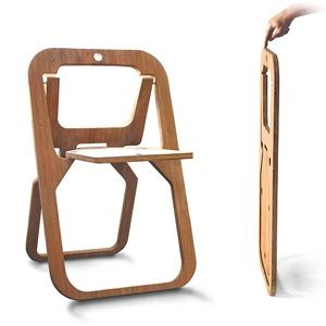 Vous avez surement remarqué, les chaises pliantes sont bien souvent peu esthétiques et sans charme. En effet, les concepteurs