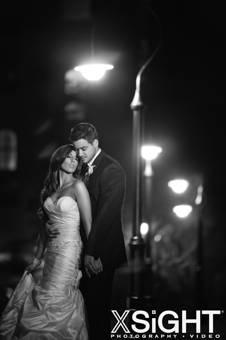 End of night photo | Wedding at The Fairmont Sonoma Mission Inn | photo by XSiGHT Photography & Video