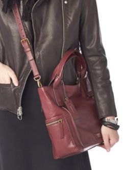 #Fossil Emerson Satchel #fossilstyle
