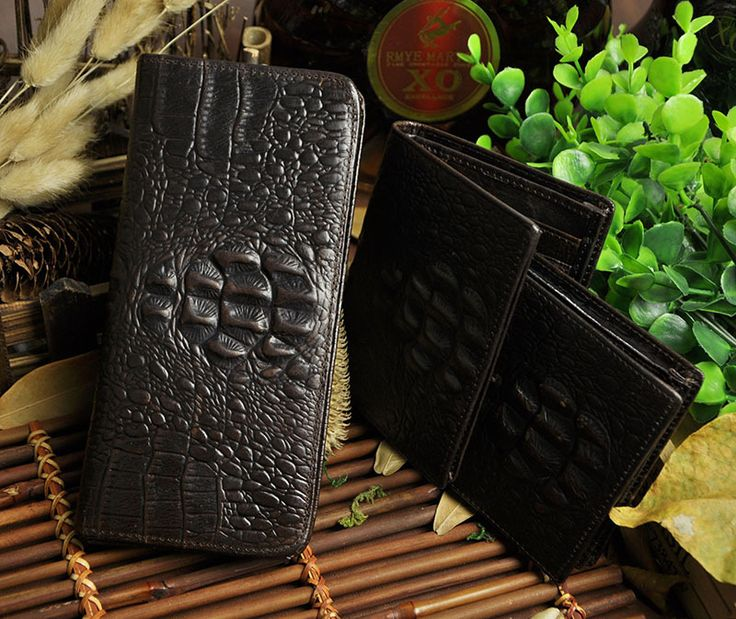 Top Quality Cattle Men Male Organizal Vintage Genuine leather Credit Card Cash Coin Holder Checkbook Wallet Purse