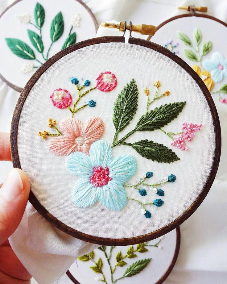 Разработка картинок для вышивки