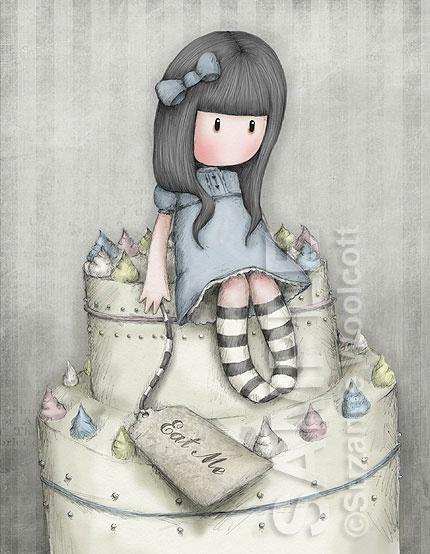 gorjuss - suzanne woolcott -The sweetest cake