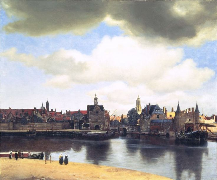 Page: View on Delft  Artist: Johannes Vermeer  Start Date: c.1660  Completion Date:c.1661  Style: Baroque  Genre: cityscape  Technique: oil  Material: canvas  Dimensions: 96.5 x 117.5 cm  Gallery: Royal Picture Gallery Mauritshuis
