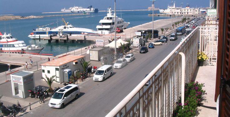 Sea view from Roomsat Belveliero! :)