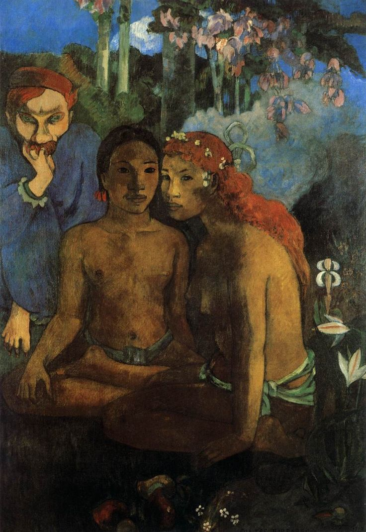 Contes Barbares (Barbarian Tales) 1902 Oil on canvas, 130 x 89 cm Museum Folkwang, Essen