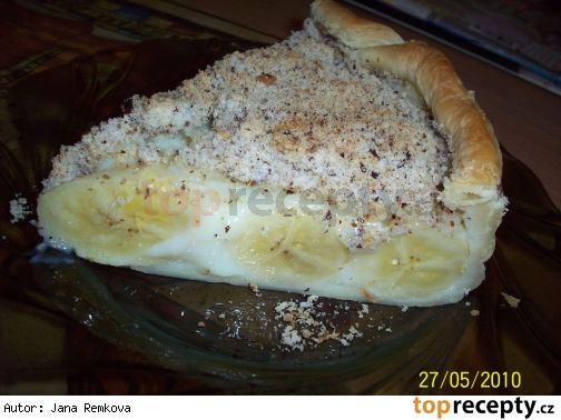 Banánovo-pudinková bomba