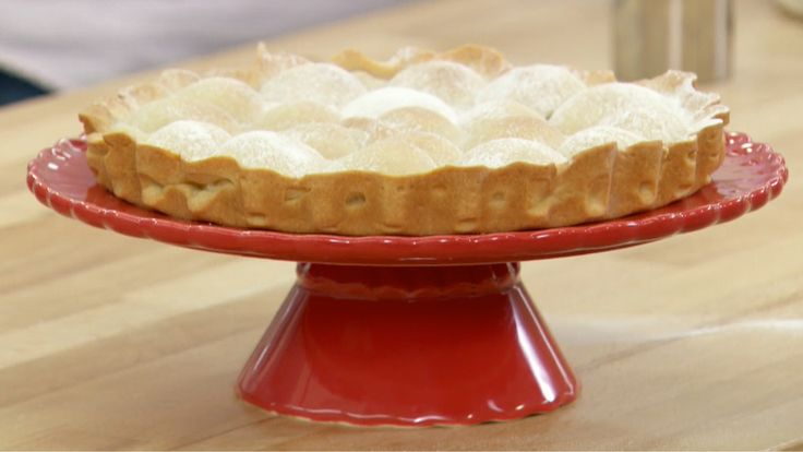 This Wobbly Apricot Tart is Mary's interpretation of the signature challenge in the Pies & Tarts episode of Season 2 of The Great British Baking Show.