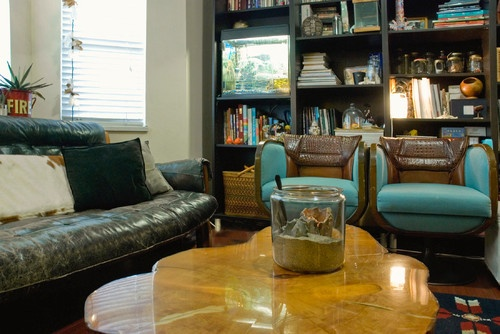 Those Are Some Badass Chairs.eclectic Living Room By