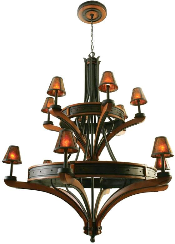 Kalco aspen 12 light chandelier 5832ni kalco aspen series