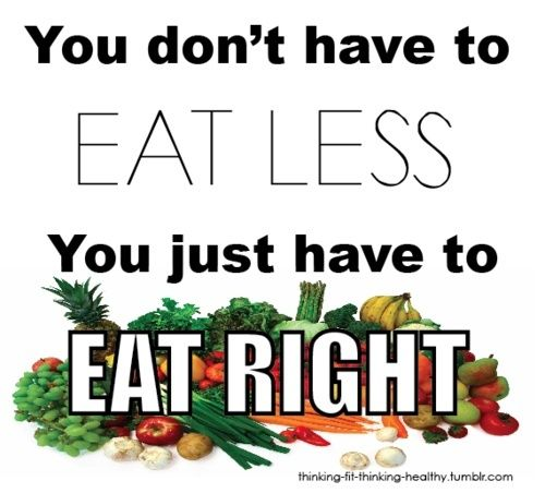 Just eat healthy. Eat right. jirano dooleyfudeneen: Health Food, Eating Rights, Quote, Eatright, Healthy Eating, Weightloss, Eating Healthy, Healthy Food, Weights Loss