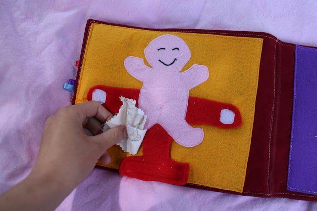 edu-mata: Książeczka sensoryczna - zasypię Was zdjęciami :)