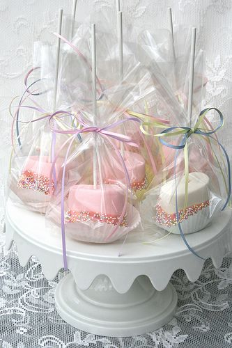 Marshmallows packaged for school fayre