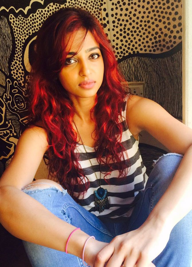 Radhika Apte becomes a redhead for her next film. #Bollywood #Fashion #Style #Beauty
