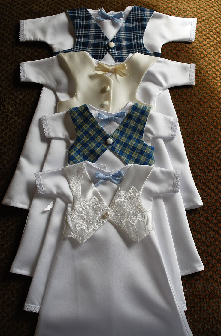 Boys angel gowns www.frontrangeangelgowns.com