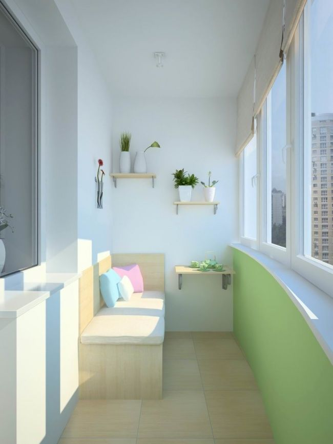 20 cool ideas for your balcony - photo 7