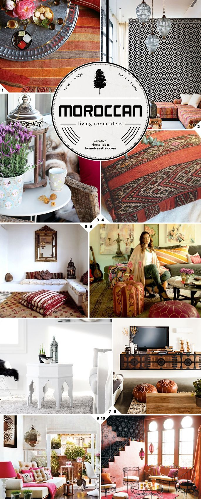 Going Exotic: Moroccan living room ideas: